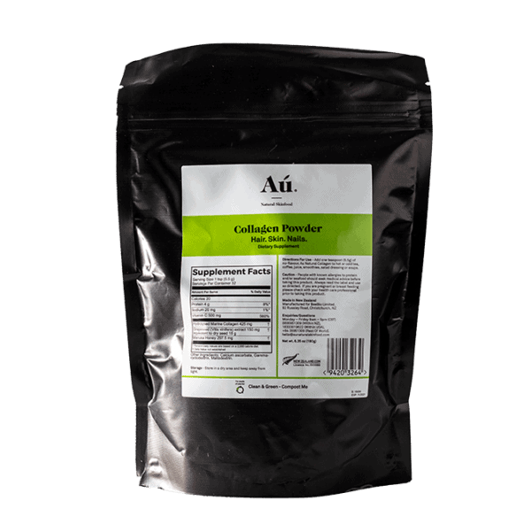 Au Natural Skinfood Pure Collagen Powder For The Health Of Hair, Skin And Nails