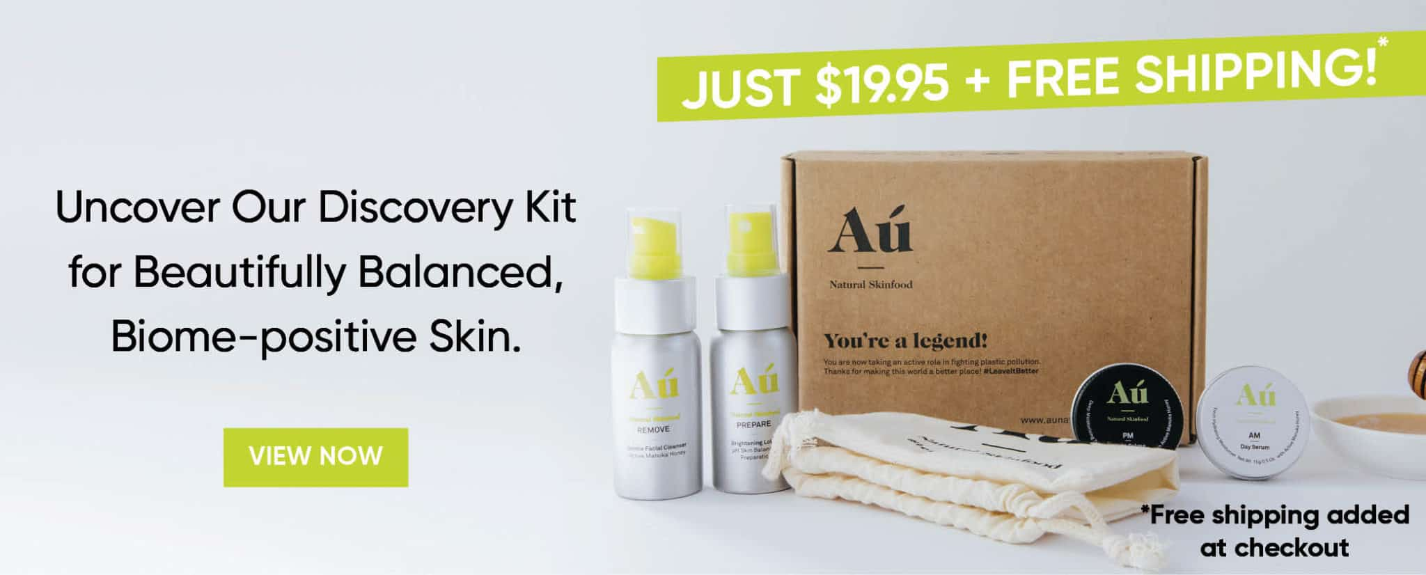 Au Natural Skinfood Banner Image Discovery Kit